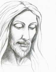 Jesus Christ-pencil
