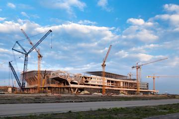 In de dag Stadion Building a new stadium