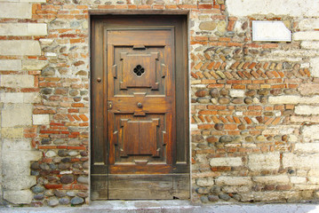 Fototapete - Old door.