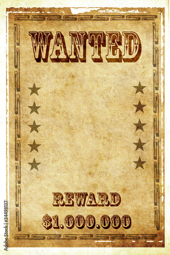 Wanted photos