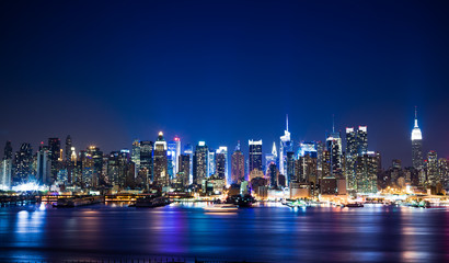 Wall Mural - New York Manhattan skyline