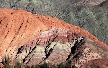 La montagne des sept couleurs - Purmamarca