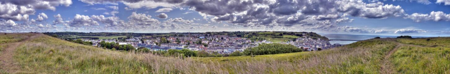 Fototapete - Panorama de Port-En-Bessin