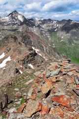 Peak over 3.000 meters