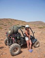 Buggy dans le désert