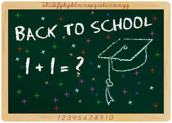 first day of school, start of  new school year, vector