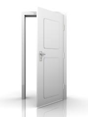 Offene Tür