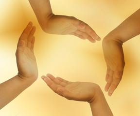 circle hand