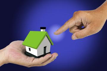 Hand select house