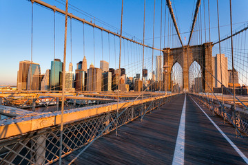 Fototapete - Pont de Brooklyn New York