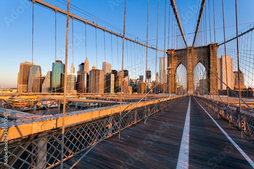 Fototapete Pont de Brooklyn New York