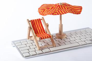 Urlaub vom Büro
