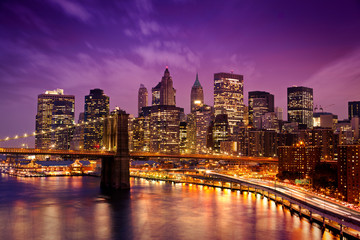 Wall Mural - New York Manhattan Pont de Brooklyn