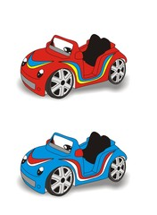Photo sur Aluminium Voitures enfants cars