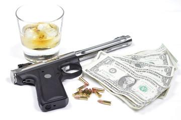 Guns, Whiskey, Money