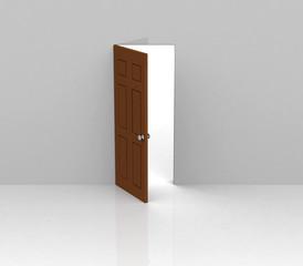 Die Tür steht uns offen