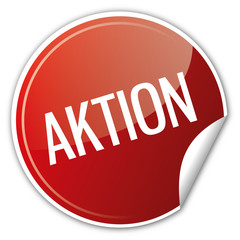 Button Rabatt - Aktion Sale ausverkauf sparen reduziert rot