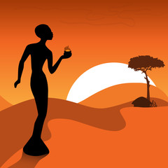 Afrikanische Komposition
