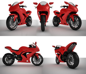 Keuken foto achterwand Motorfiets SuperBike Prototype Bundle lowres