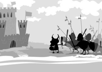 knights attack