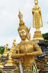 thai angel statue