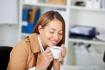 kaffeegenuss im büro