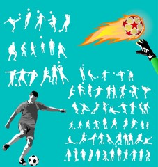 Soccer collection for design