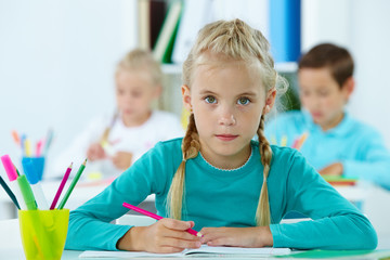 Elementary pupil