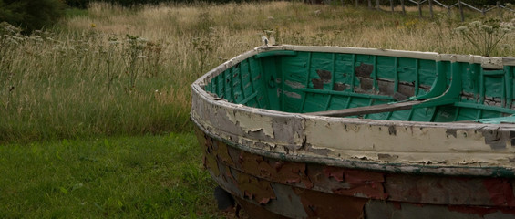 Dilapidated Boat 2