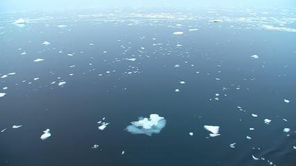 Fototapete - open antarctic ocean, no horizon