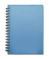 Blue Cover Note Book