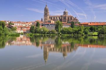 Catedral de Salamanca, España.