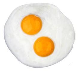 Foto op Canvas Gebakken Eieren Fried egg