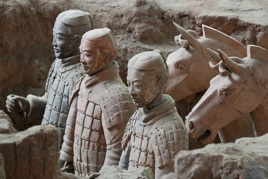 Armée de terre cuite, Chine 12