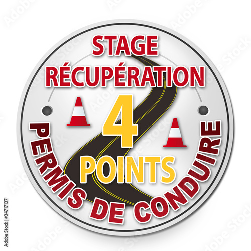 panneau stage r cup ration 4 points permis de conduire photo libre de droits sur la banque d. Black Bedroom Furniture Sets. Home Design Ideas