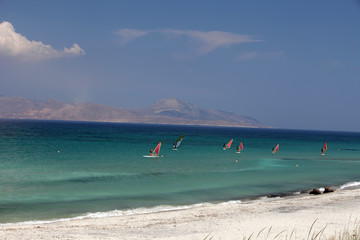 Mastichari beach on Kos Island, Dodecanese.