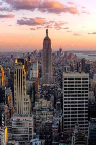Fototapete New York Empire state building
