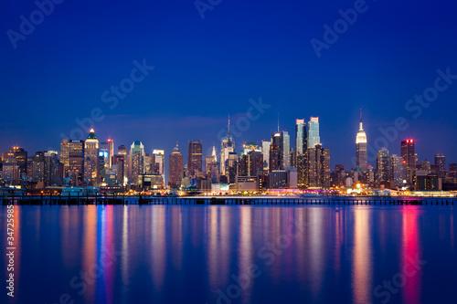 Wall mural New York Manhattan skyline