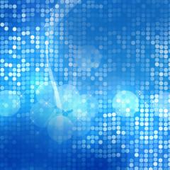 青のイルミネーション