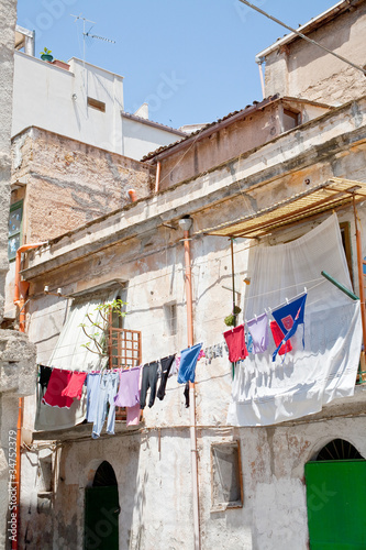 old urban house in Palermo\