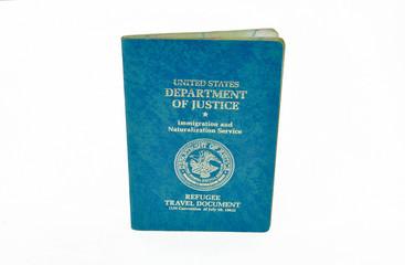 US refugee travel document