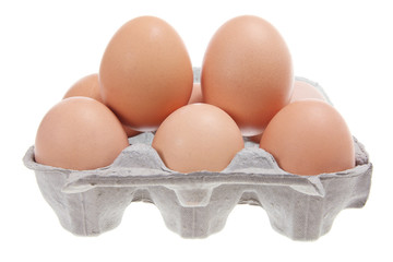 Eggs on Carton