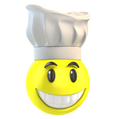 smiley chef
