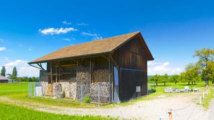 Barn in Maur (Swiss countryside)