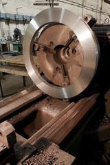 Metal industrial machine