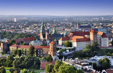 Foto op Aluminium Krakau Wawel Castle in Cracow