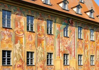 Bamberg Rathaus Detail - Bamberg townhall detail 02