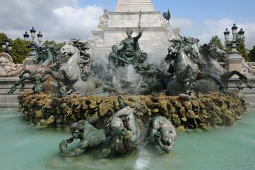 Monument aux Girondins à Bordeaux