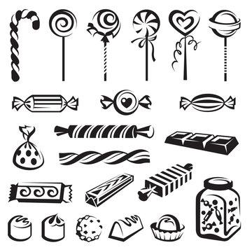 candies set