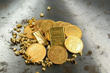 Goldsammlung